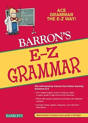 Barron's E-Z Grammar By Mulvey, Dan
